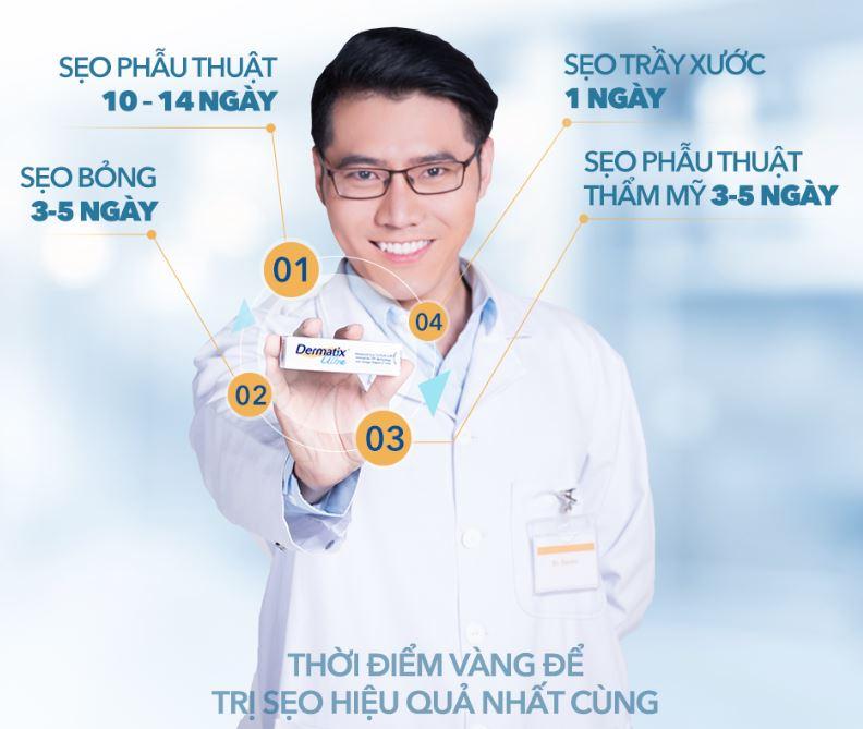 Cách sử dụng Dermatix Ultra