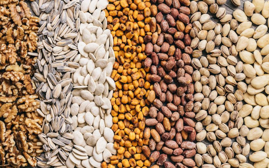 Các loại hạt giúp tăng cường sức khỏe và trao đổi chất
