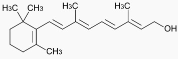 Công thức hóa học của Vitamin A