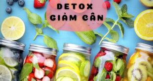 Detox giúp giảm cân giải độc cơ thể