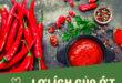 Ớt thành phần dinh dưỡng cho sức khỏe