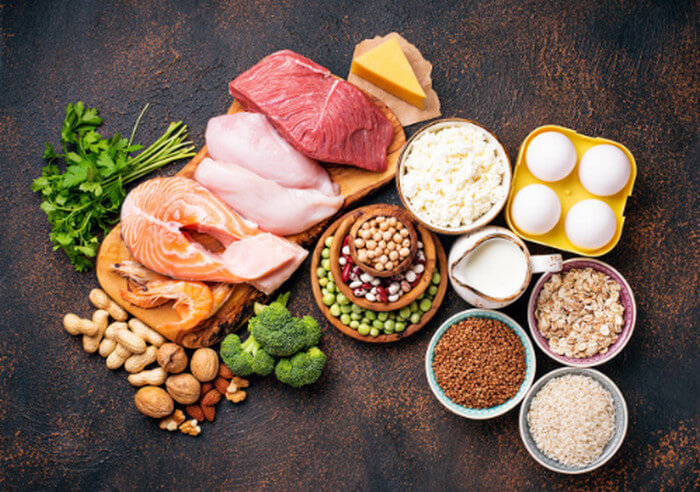 Thêm protein vào chế độ ăn sẽ giúp bạn giản cân
