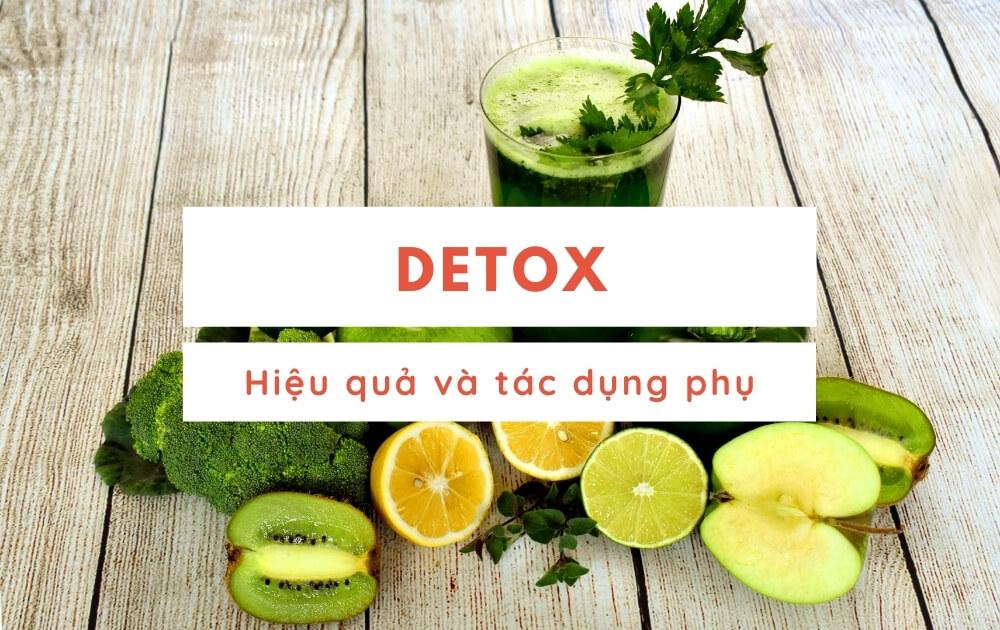 Detox nước chanh hiệu quả và tác dụng phụ