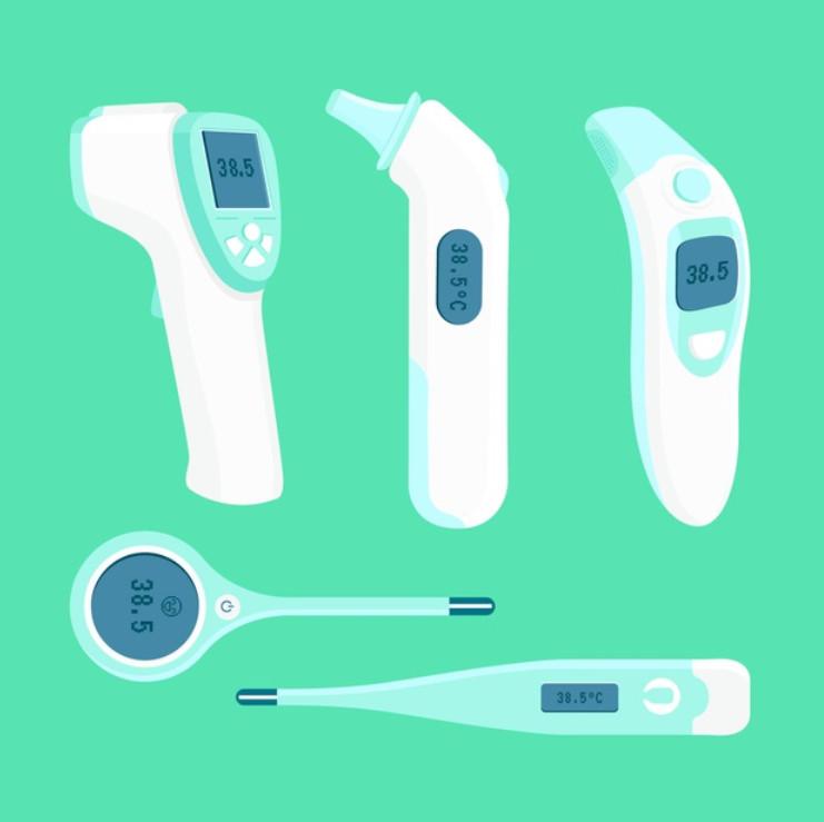 Hình ảnh thiết bị đo thân nhiệt cơ thể