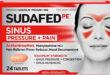 Thuốc trị viêm xoang Sudafed PE