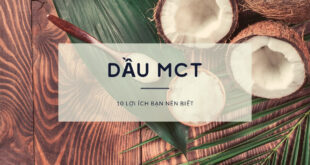 Những lợi ích của dầu MCT
