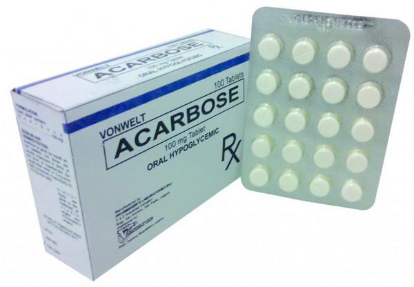 Hình ảnh thuốc Acarbose