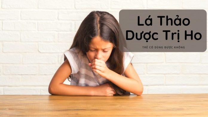 Lá thảo dược có dùng trị ho cho trẻ được không